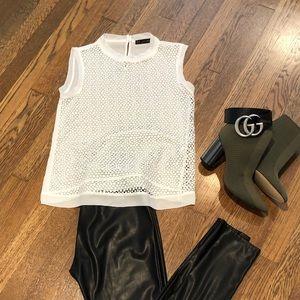 Zara Basic sleeveless blouse